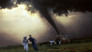 Tornado in de film twister