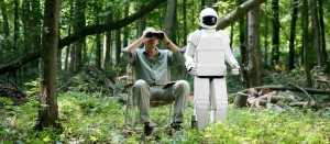 scene uit de film Robot & Frank