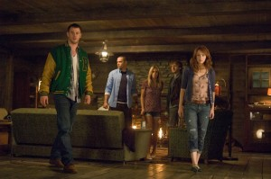 Scene uit de film The Cabin in the Woods