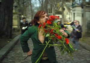 scene uit de film Holy Motors