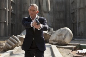 Daniel Craig in de film Skyfall