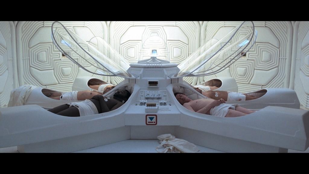 Slapend reizen naar de sterren á la Alien