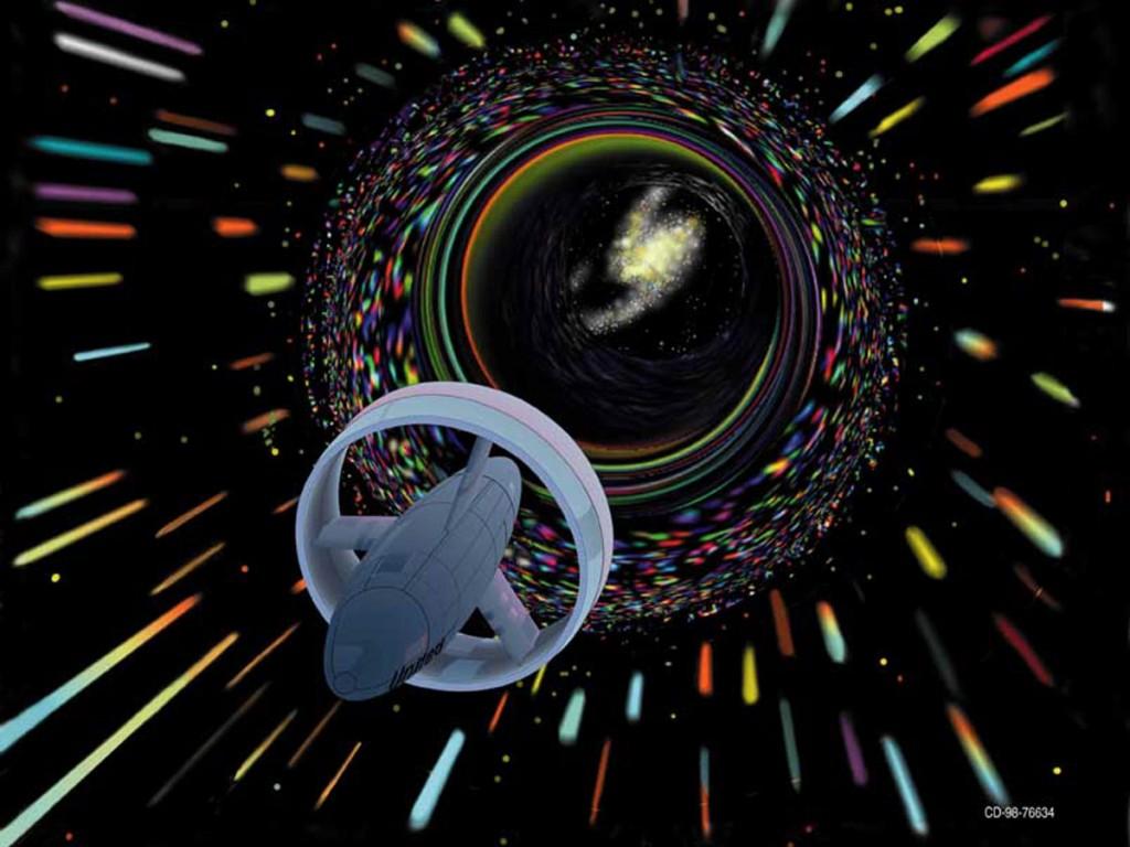 Net geen Star Trek: Warp reizen volgens Alcubierre