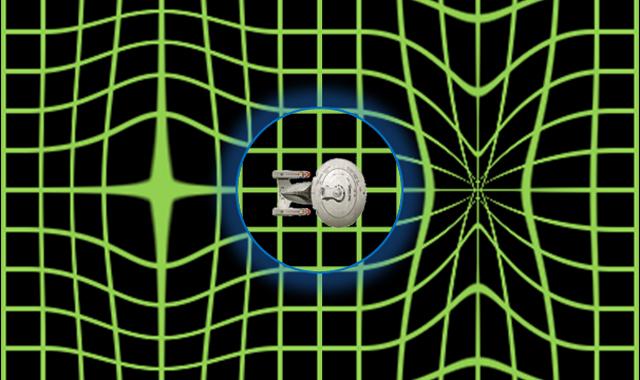 Star Trek, Alcubierre style - reizen in een Warp Bubble