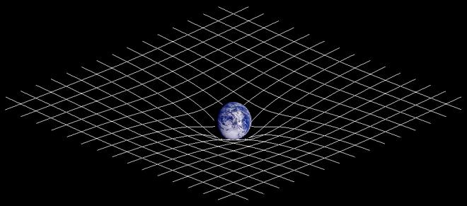 Tijdreizen door wormgaten: buiging van de ruimtetijd