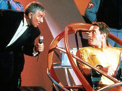 De film The Running Man liep vooruit op de mogelijke uitwassen van realitytelevisie voordat het begrip goed en wel bestond