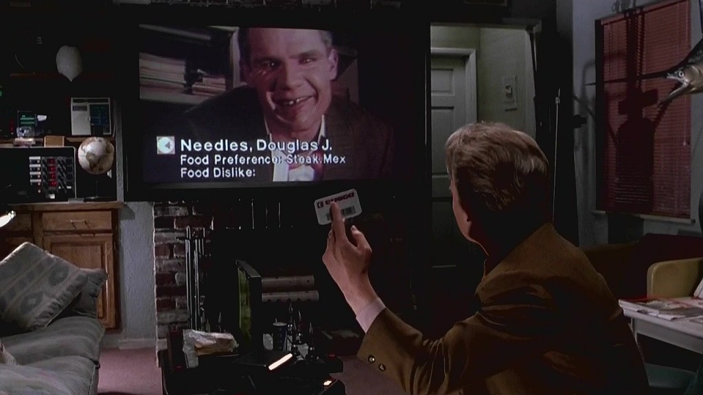 Overleggen met beeld á la Skype, kon al in Back to the Future