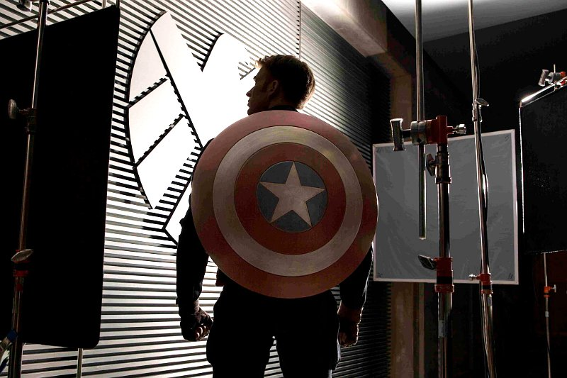 Het schild van Captain America uit Captain America: The Winter Soldier