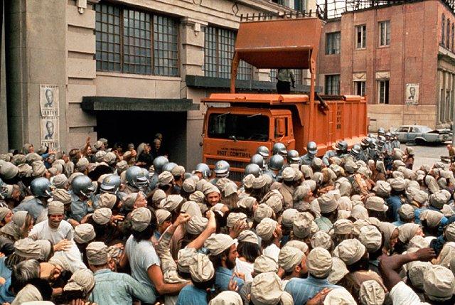 Door overbevolking en het broeikaseffect warmde het in de film Soylent Green op aarde in rap tempo op