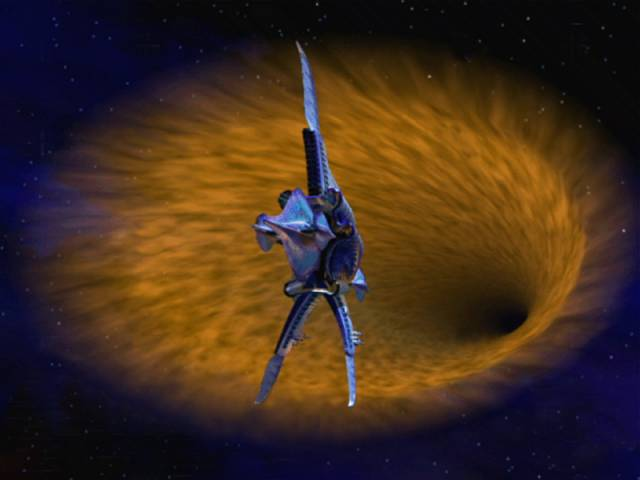 Hyperspace in Babylon 5