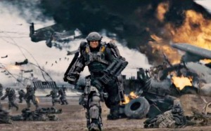 Edge of Tomorrow exoskelet